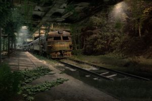 train, Digital art