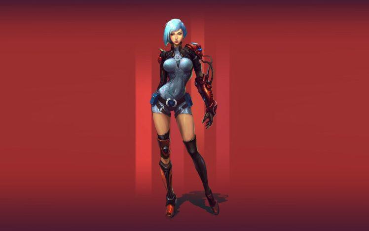 women, Warrior, Fantasy art HD Wallpaper Desktop Background