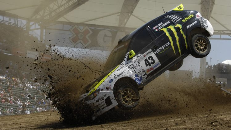 Ken Block Rally Dirt Car Subaru Hd Wallpapers Desktop