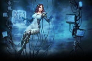 women, Fantasy art