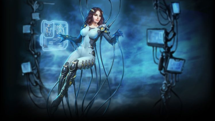 women, Fantasy art HD Wallpaper Desktop Background