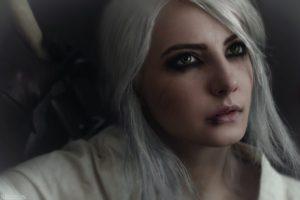 women, Cirilla Fiona Elen Riannon, Cosplay, Face, Fantasy art, The Witcher 3: Wild Hunt