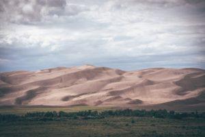 sand, Dune, Sky