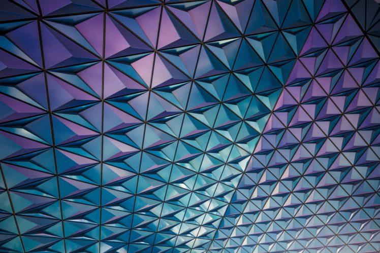 modern, Geometry HD Wallpaper Desktop Background