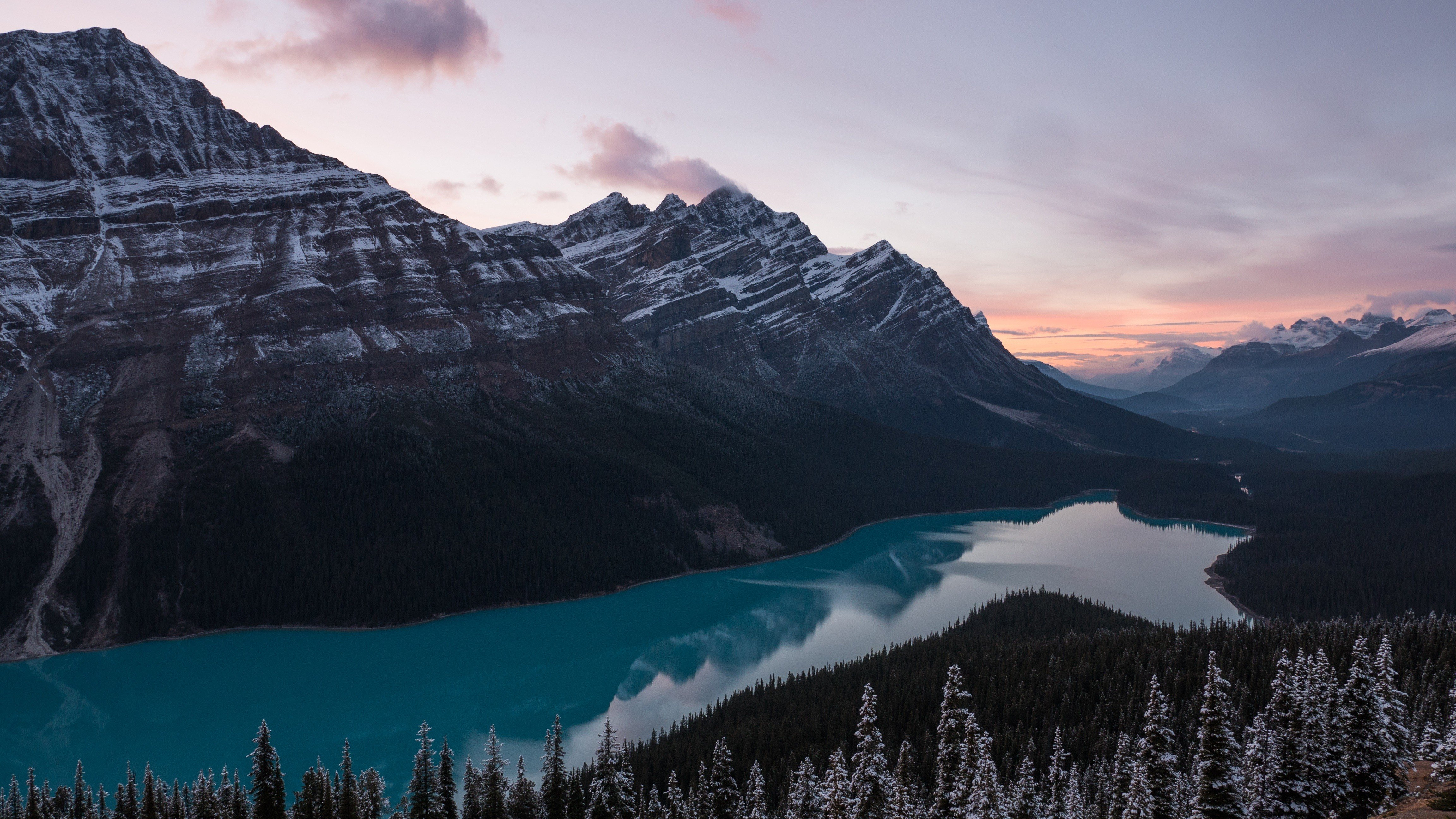 river, Mountains, Nature Wallpaper