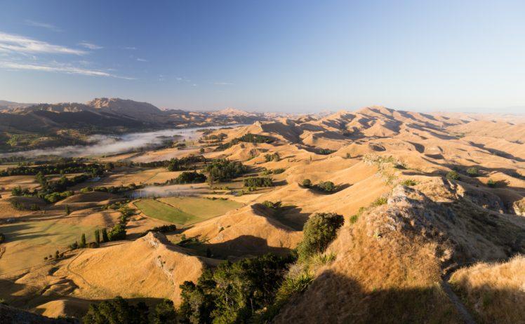 mountains, Sky, Landscape, Nature HD Wallpaper Desktop Background