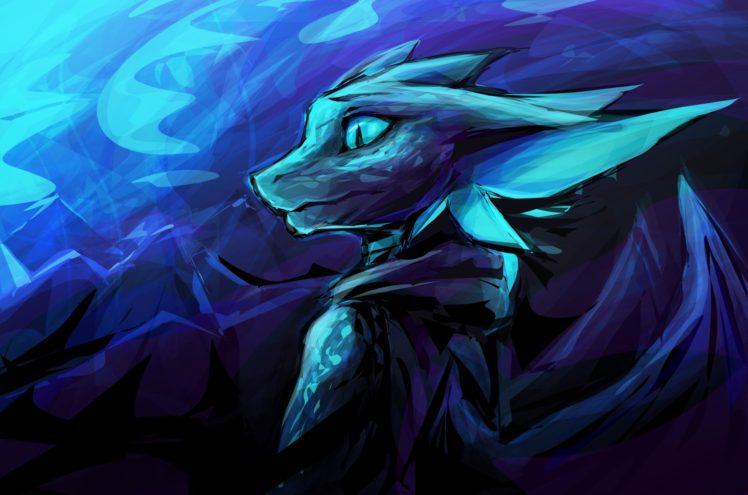 Anthro, Furry, Dragon HD Wallpaper Desktop Background