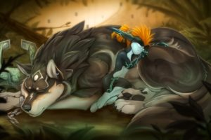Midna, Link, The Legend of Zelda: Twilight Princess, The Legend of Zelda, Furry