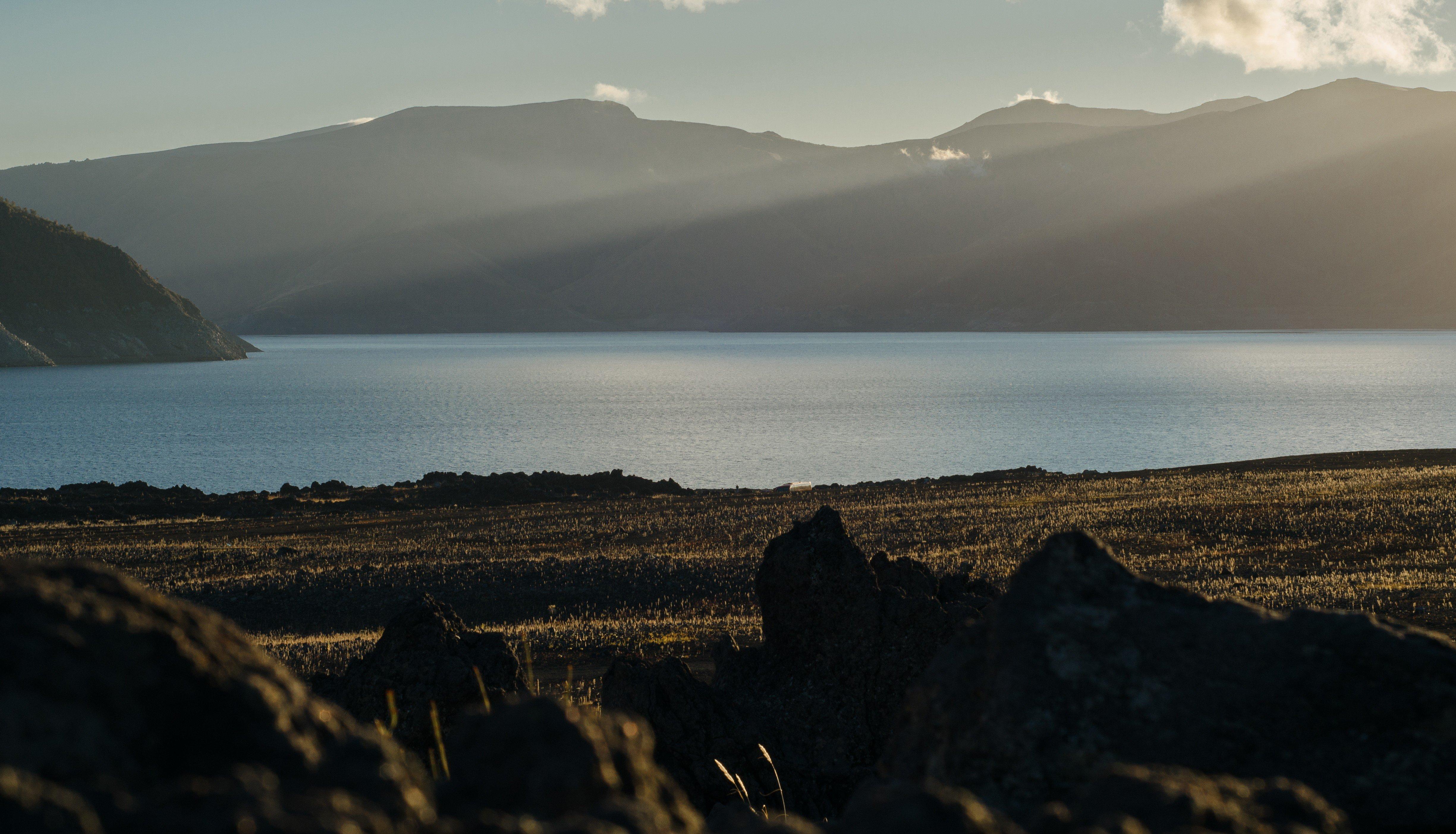Laguna Laja   Antuco, Chile, Landscape Wallpaper