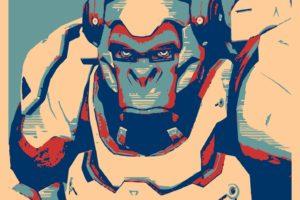 Winston (Overwatch), Propaganda, Overwatch, Gamer