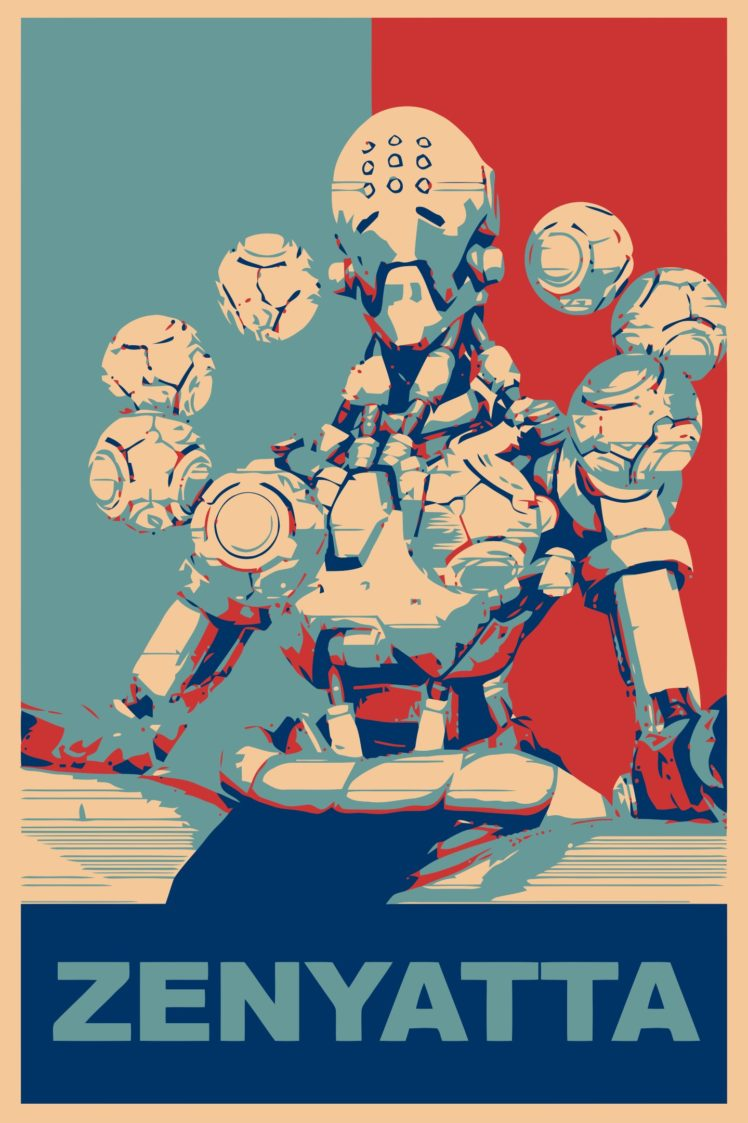 Zenyatta (Overwatch), Propaganda, Overwatch, Gamer HD Wallpaper Desktop Background