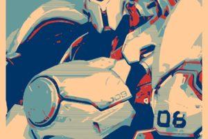Reinhardt (Overwatch), Propaganda, Overwatch, Gamer
