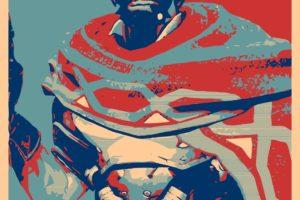 propaganda, Mc Cree, Overwatch, Gamer