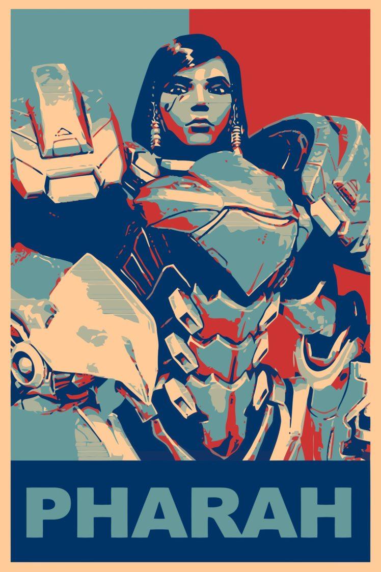 Pharah Overwatch Propaganda Overwatch Gamer Hd Wallpapers
