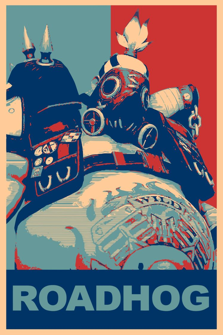 Roadhog Overwatch Gamer Propaganda Overwatch Hd Wallpapers