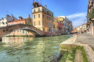 architecture, Building, Old building, Water, Venice, Italy, Bridge, Street, Historic, Boat