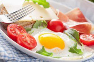 food, Fork, Tomatoes, Eggs