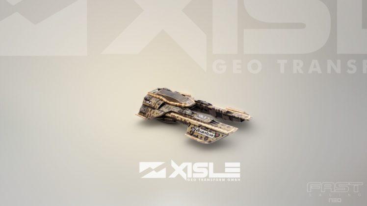 video games, XISLE, Fast Racing Neo, Ship, Futuristic, Shin&039;en Multimedia HD Wallpaper Desktop Background