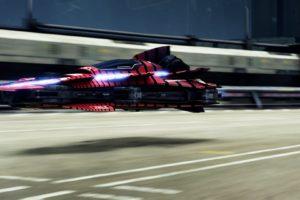 ZVIL, Fast Racing Neo, Shin&039;en Multimedia, Ship, Futuristic, Video games, Road, Ambient, Floating, Race tracks