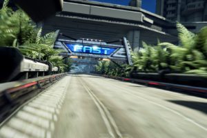 Fast Racing Neo, Video games, Landscape, Race tracks, Trees, Building
