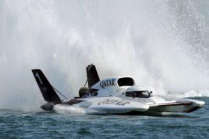 hydroplane, Speedboat, Water, Sea, Water Splash, Boat, Turbines
