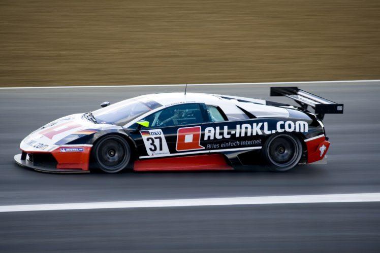 Lamborghini Lamborghini Murcielago Race Cars Sports Car Race