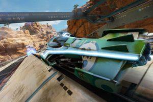 Fast Racing Neo, Shin&039;en Multimedia, Kamagori, Rock, Mountains, Desert, Ship, Futuristic, Video games