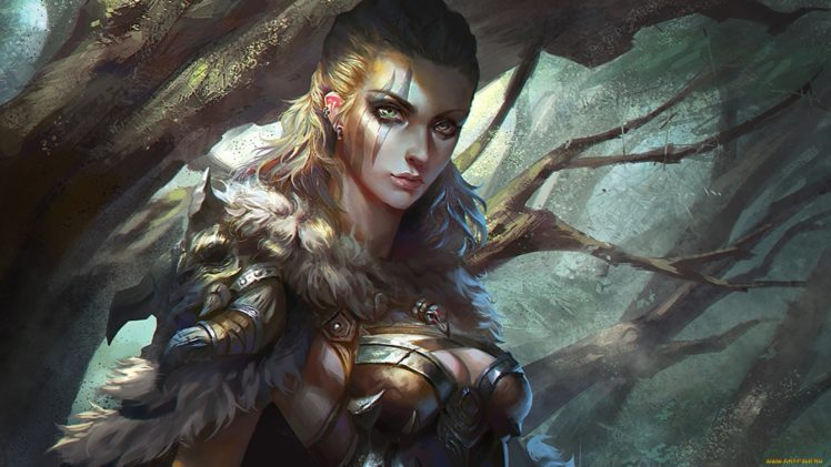 fantasy art, Fantasy girl HD Wallpaper Desktop Background