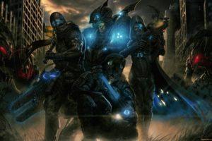 warrior, Science fiction, Artwork