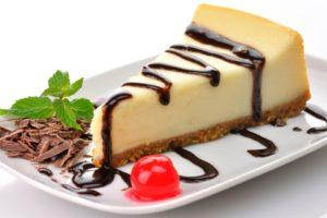 Cheesecake, Chocolate, Cherries, Dessert, Cake