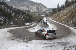 Sébastien Ogier, Rally cars, Volkswagen Polo, Snow, Mountain pass, Monaco, VW Polo WRC