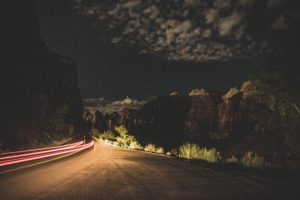 nature, Road, Long exposure