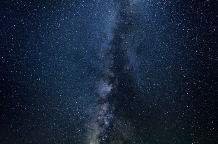nature, Stars, Galaxy, Space art, Digital art HD Wallpaper Desktop Background