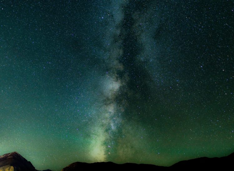 Nature Stars Milky Way Hd Wallpapers Desktop And Mobile