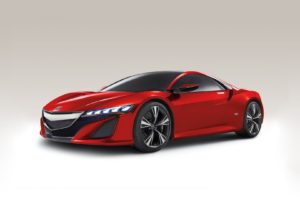 Nissan, Acura NSX, Car, Vehicle, Red cars