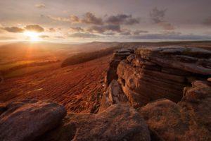 landscape, Sunlight, Desert