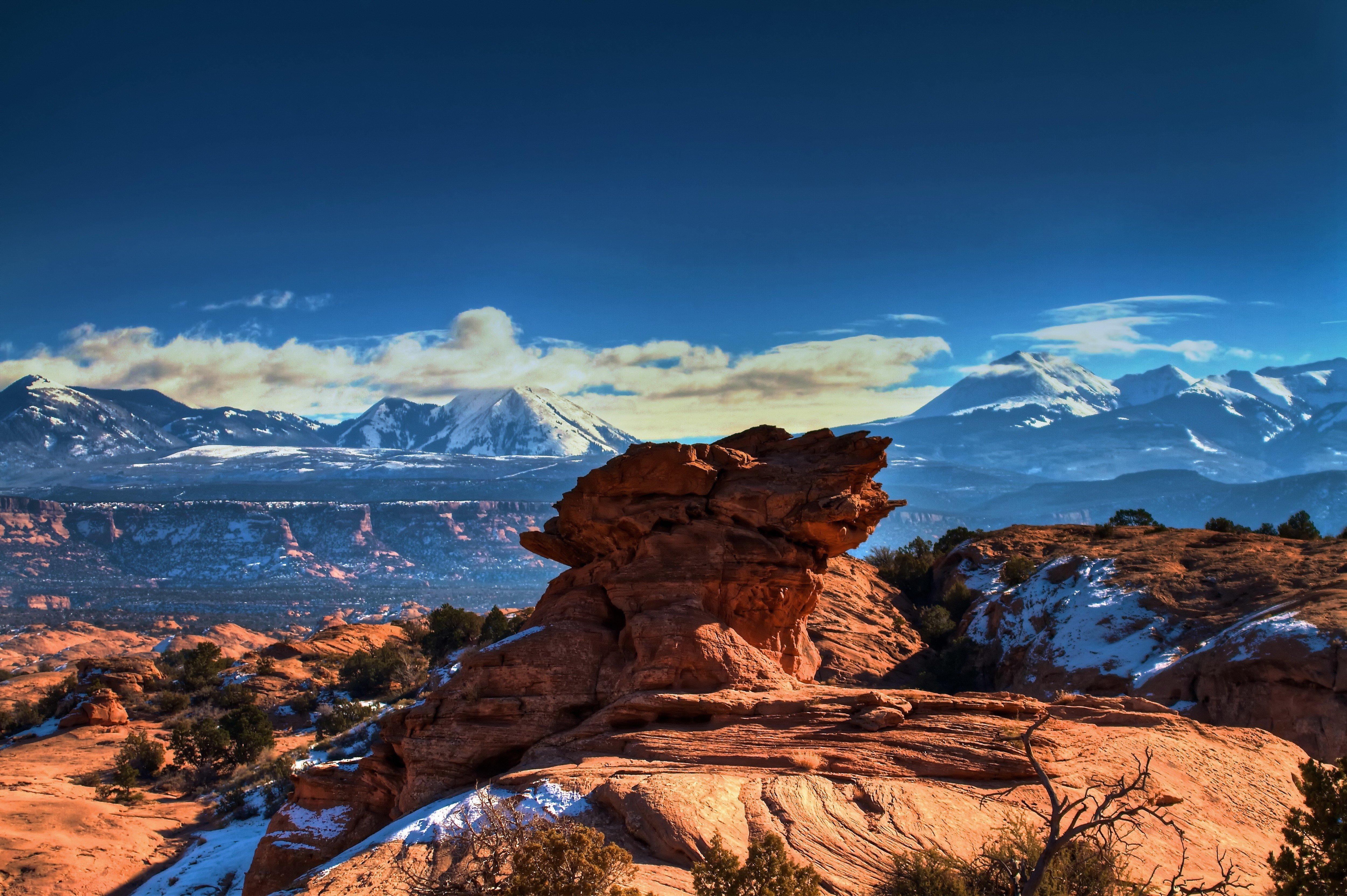 landscape, Mountains, Nature Wallpaper