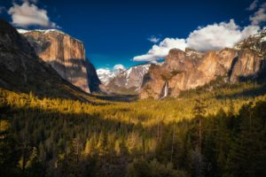 landscape, Mountains, Forest, Yosemite National Park, Yosemite Valley