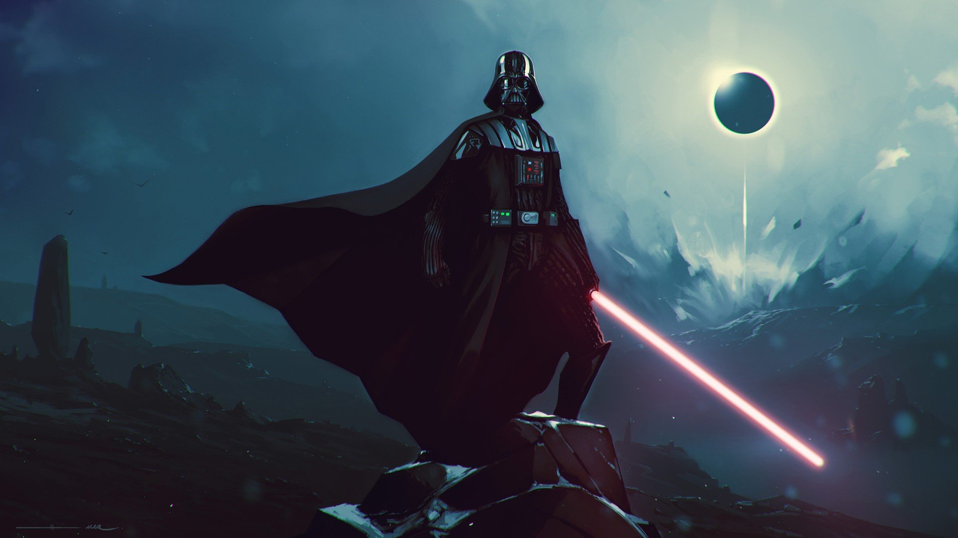 Darth Vader Star Wars Sith Lightsaber Hd Wallpapers Desktop And Mobile Images Photos