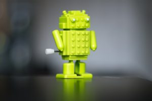 Android (operating system), Robot, Bokeh, Blurred, Technology