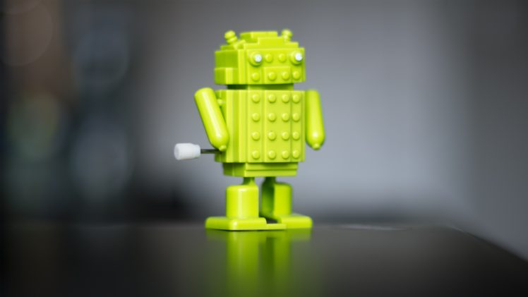 Android (operating system), Robot, Bokeh, Blurred, Technology HD Wallpaper Desktop Background