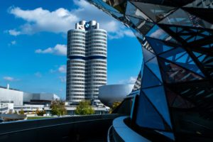 architecture, Building, Modern, Skyscraper, Glass, Balcony, Clouds, Cityscape, Museum, Munich, BMW, Germany