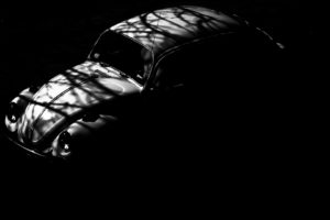 vehicle, Car, Volkswagen Beetle, Shadow, Monochrome, Vintage, Vintage car