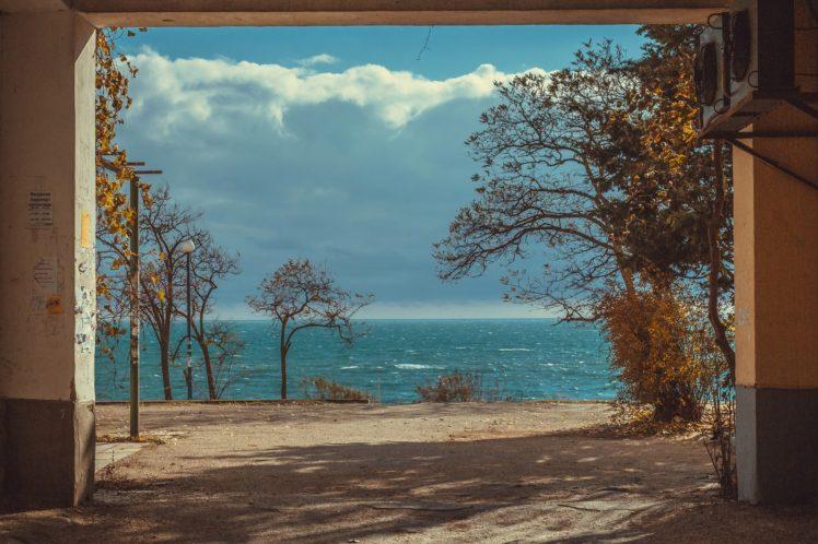 photography, Black Sea, Landscape, Water HD Wallpaper Desktop Background