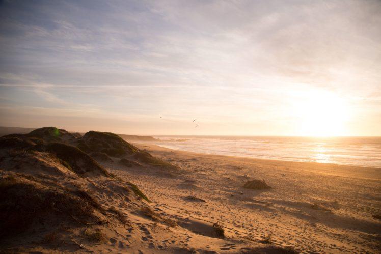 nature, Sand, Beach, Water HD Wallpaper Desktop Background