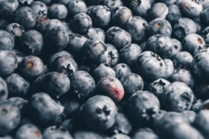 nature, Fruit, Blueberries