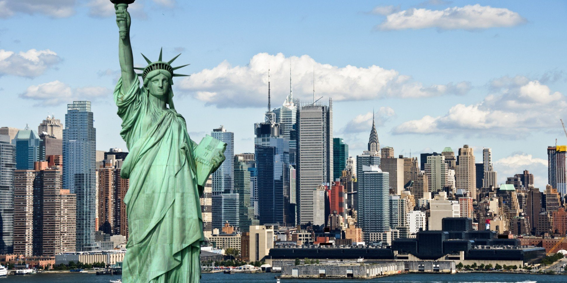 New York City Statue Cityscape Statue Of Liberty Hd Wallpapers Desktop And Mobile Images Photos