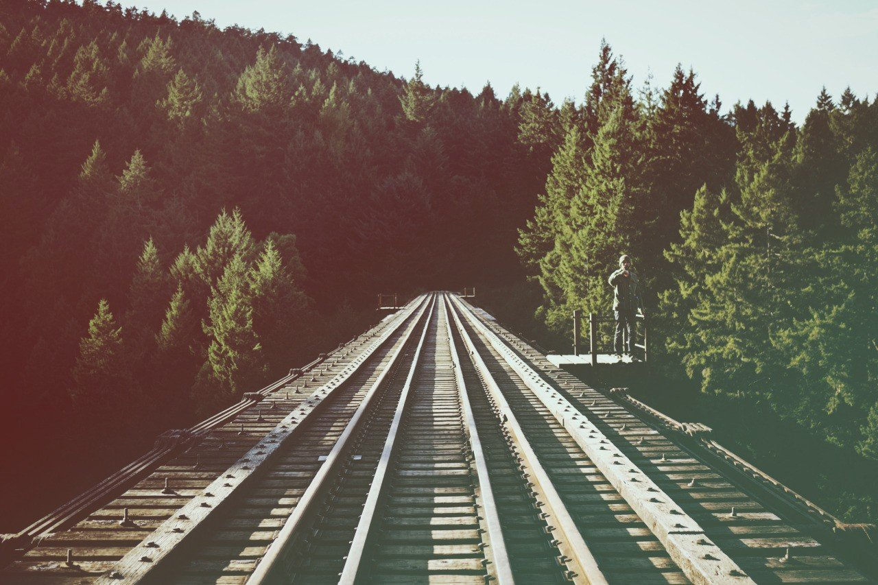 Filter, Forest, Railway, Hipster Photography HD Wallpapers