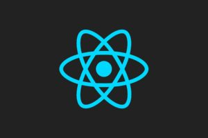 reactJS, Facebook, JavaScript, Minimalism, Artwork, Simple background