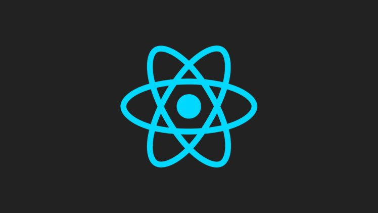reactJS, Facebook, JavaScript, Minimalism, Artwork, Simple background HD Wallpaper Desktop Background